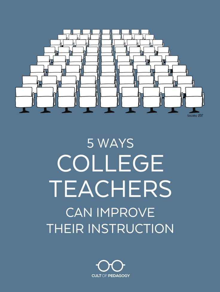 Want your college class to be exceptional? These strategies will make your teaching more engaging, effective, and satisfying for you and your students. | Cult of Pedagogy