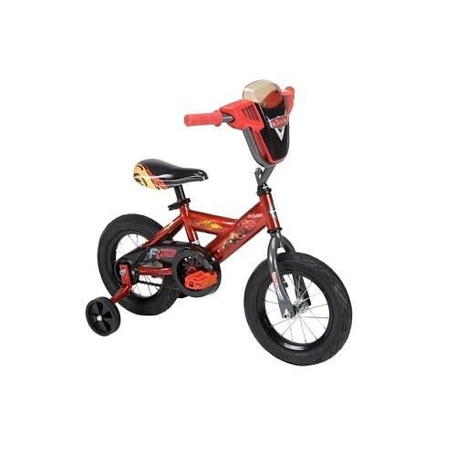 Boys Bicycle Huffy Disney Cars With Plaque 12 Inch Bike
