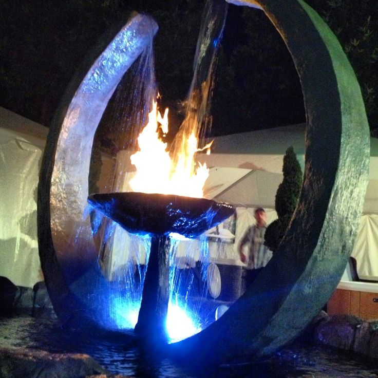 94 best images about landscaping ideas on pinterest fire for Fire and water features