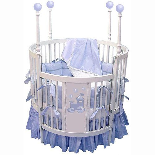 Choo Choo Round Baby Crib Furniture Pinterest Round