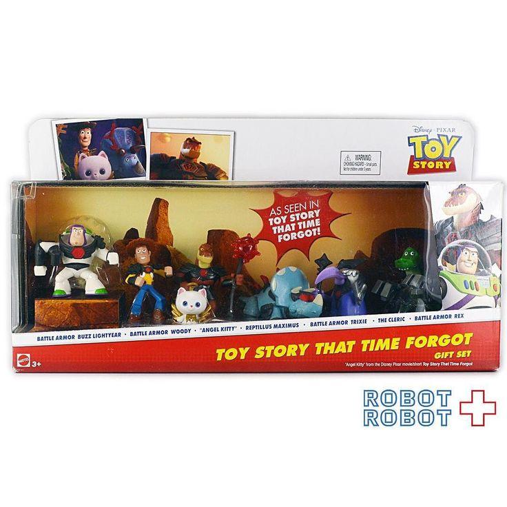 マテル トイストーリー トイストーリーオブテラーギフトセット Mattel TOY STORY That Time Forgot Gift Set #ToyStory #トイストーリー  #ピクサー #Pixar #Disney #ディズニー #アメトイ #アメリカントイ #おもちゃ  #おもちゃ買取 #フィギュア買取 #アメトイ買取 #vintagetoys #中野ブロードウェイ #ロボットロボット  #ROBOTROBOT #中野 #トイストーリー買取  #ピクサー買取 #WeBuyToys