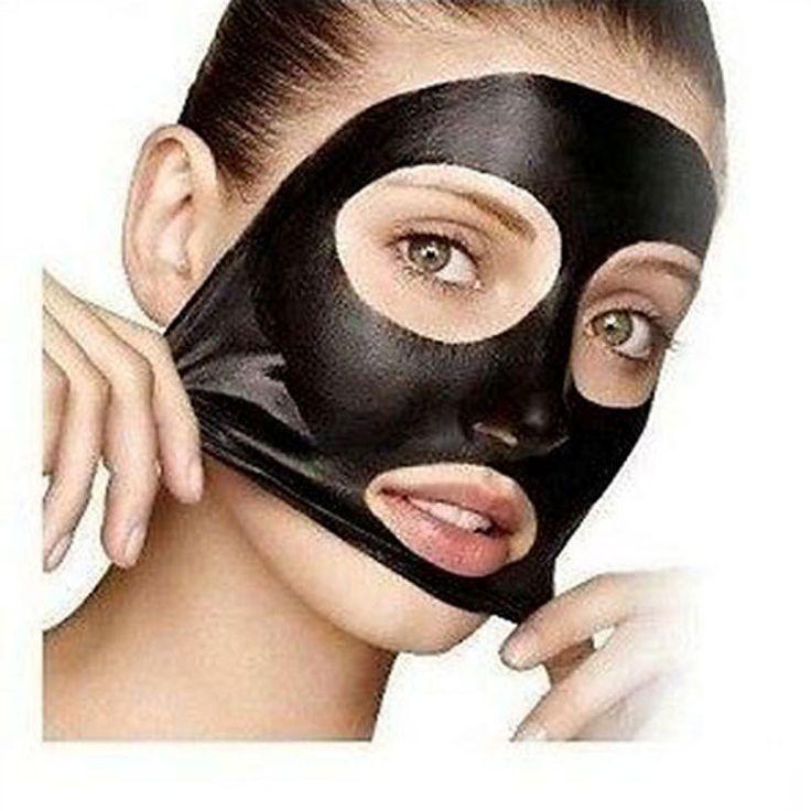 טיהור מסיכה הפנים חטט עמוק נקי לקלף מסכה שחורה שחור ראש Remover נקבובית רצועת פנים מסיכת פילינג טיפולי אקנה