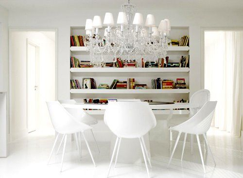 80 Best White Architecture Images On Pinterest  Architecture Entrancing Dining Room White Inspiration Design