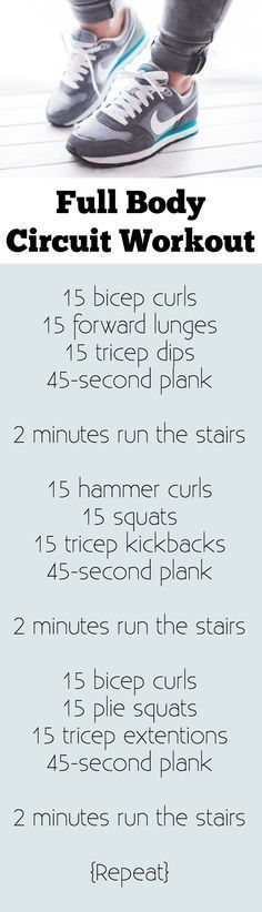 A perfect at home full body circuit, especially if your house has stairs! You can do this entire workout with a set of dumbbells or a resistance band. Includes modifications for diastasis recti. #cardiomenfullbody #cardioforbeginnersathome