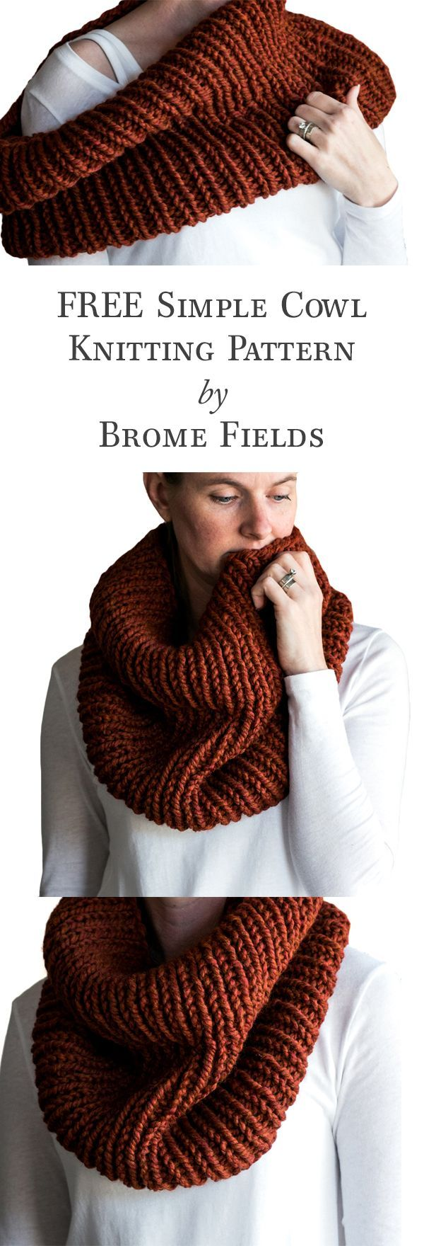 2654 best crochet knitting embroidery images on pinterest free thick quick cowl knitting pattern bankloansurffo Images