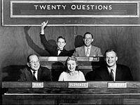 Twenty Questions - Wikipedia, the free encyclopedia