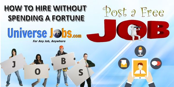 How To Hire Without Spending A Fortune Marketing Jobs Job