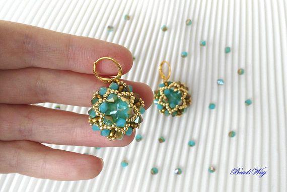 Earrings Peace green/Earrings green/Earrings