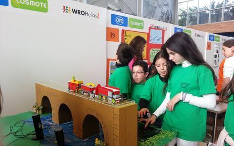 Διαγωνισμός Εκπαιδευτικής Ρομποτικής για παιδιά του δημοτικού