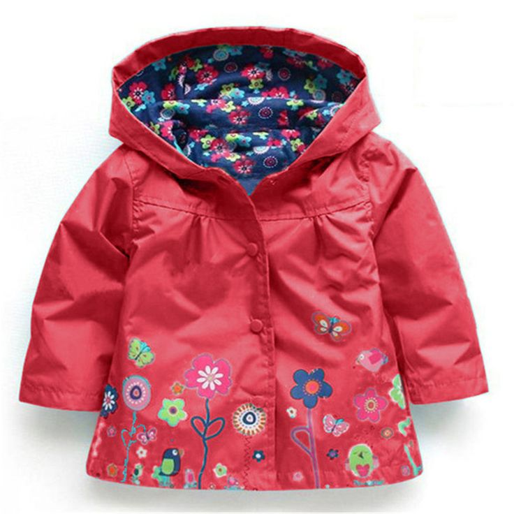 Hooded Boys Jacket Girls Jacket for Girl Coat Kids Winter Outwear Coats Clothes Spring Autumn Fashion Children Raincoat Coat