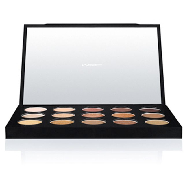 Warm neutral eye shadow palette 20g
