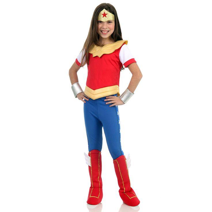 Fantasia Mulher Maravilha Dc Super Hero Girls