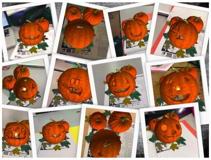 """Katie Ann on Twitter: """"Some of our #QuiverPumpkins #AR4Learning - Ss wrote out Step-by-Step instructions on how to create a Jack-o-Lantern. https://t.co/o4UdwbW0PS"""""""