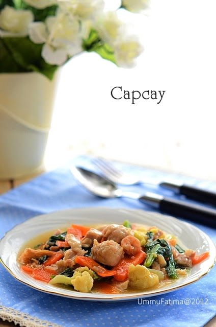 Simply Cooking and Baking...: Capcay