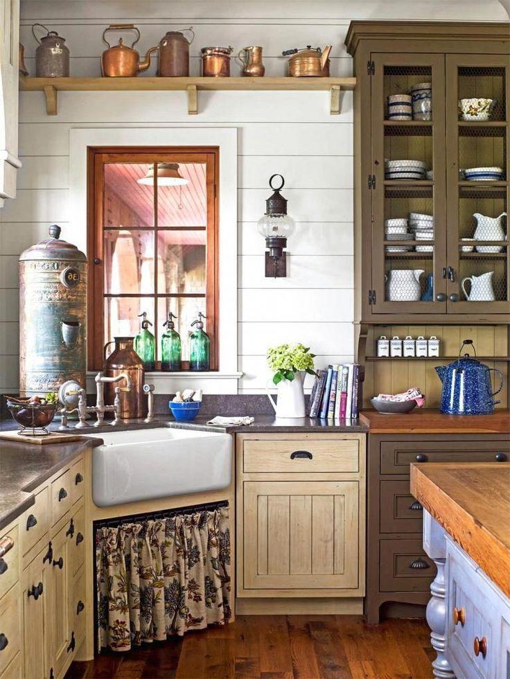 Farmhouse Kitchen Ideas On A Budget Ideal Homedecorlivingroom Farmhouse Kitchen Decor Rustic Kitchen Cabinets Kitchen Design Decor
