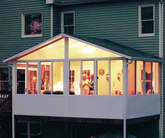 Sun Room Exterior: 9 Best Sunroom And Deck Images On Pinterest