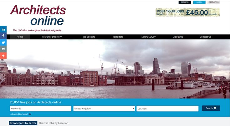 @archsonline has just launched their job board redesign, still with all the latest #architect #jobs at: http://www.architects-online.co.uk/