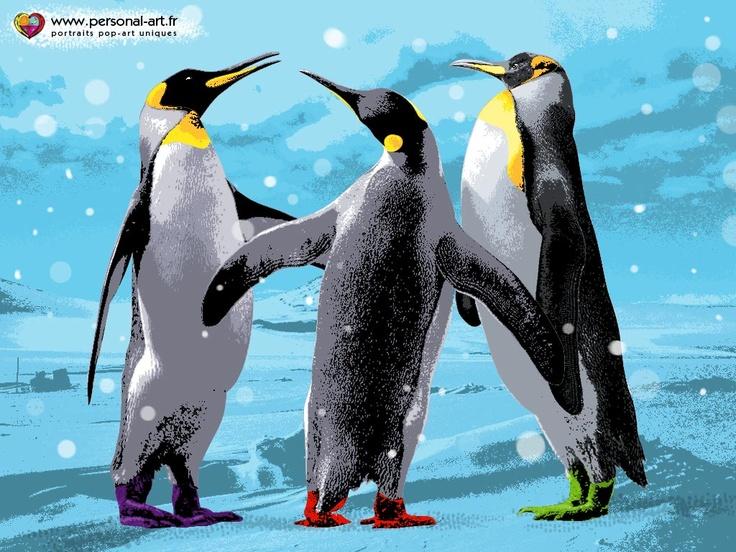 Journée Mondiale des Pingouins  25 avril 2012  par www.personal-art.fr