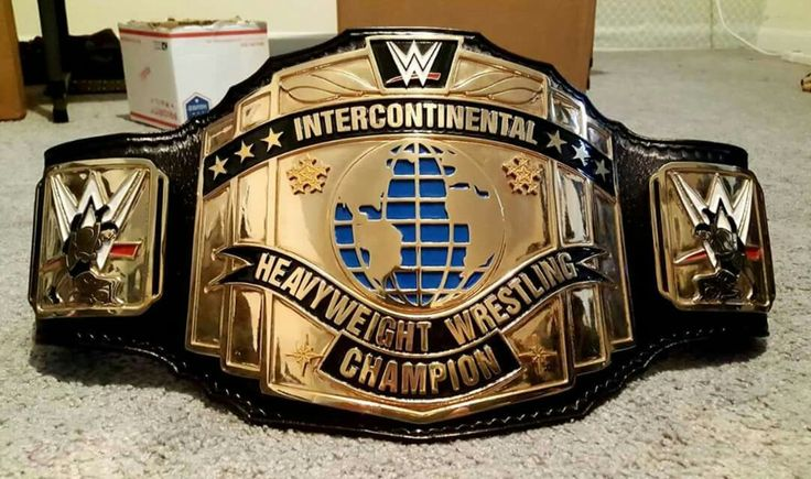Intercontinental Championship black strap with current