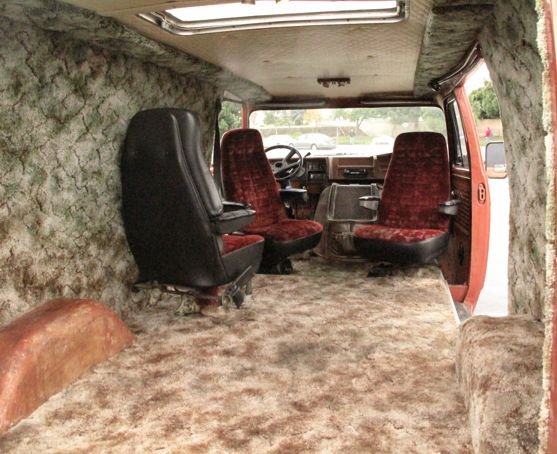 Image result for 1975 chevy van shag carpet