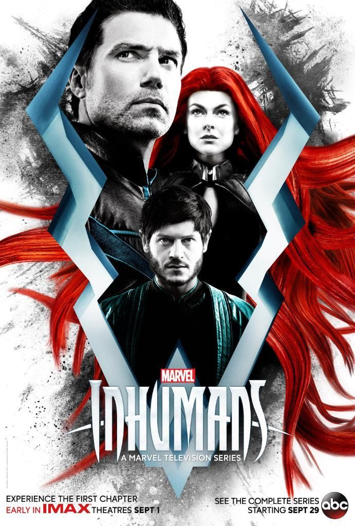 Marvel's #Inhumans premiere date confirmed, new poster revealed! Will you be watching? #tv
