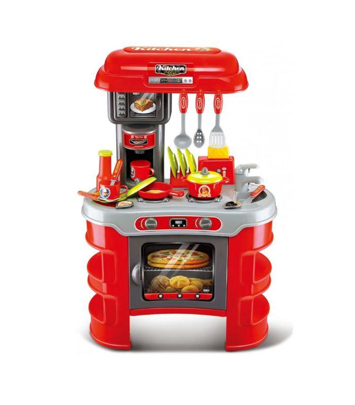 ست آشپزخانه اسباب بازی Little Chef کد 008 908a ست آشپزخانه اسباب بازی Little Chef نمونه کوچکی از يک آشپزخانه است که نحوه فعالیت در یک آشپزخانه