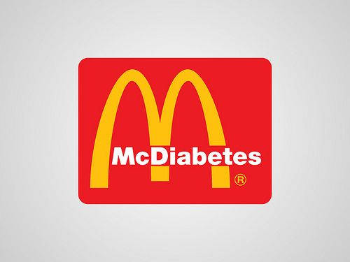Mc Donalds (see more on http://www.tranchesdunet.com/la-vraie-signification-des-logos/ )
