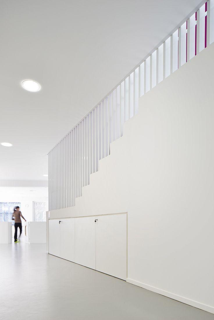 avenier cornejo's nursery in paris features a perforated façade