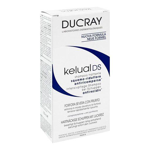 DUCRAY KELUAL DS Anti Schuppen Shampoo - Intensivpflege für die Kopfhaut (bei Seborrhoischem Ekzem).