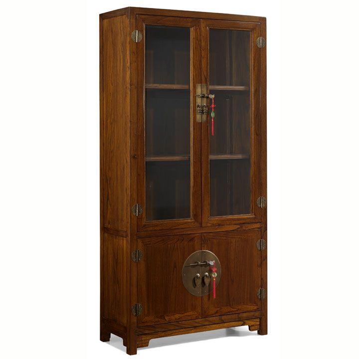 Based On A Type Of Cabinet Used By The Chinese To Store Food, We Have  Updated Our Version To Add Bevelled Glass Panels In The Upper Doors Rather  Than The ...