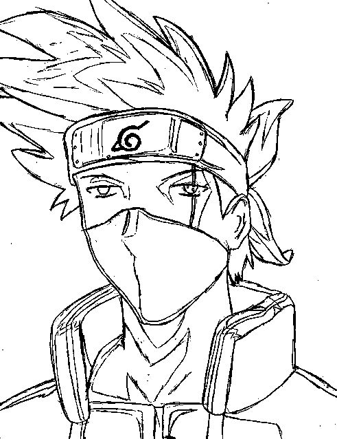 naruto anime coloring page google search coloring pages to printcolouring