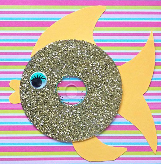 Cds recycled fish