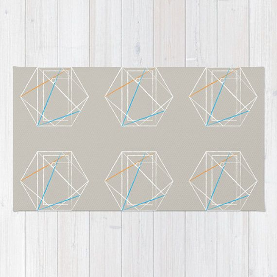 Die Besten 25+ Hexagon Area Ideen Auf Pinterest | Schwarz Weiß