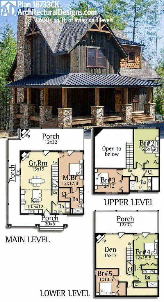 Architectural Designs Rugged House Plan gives you