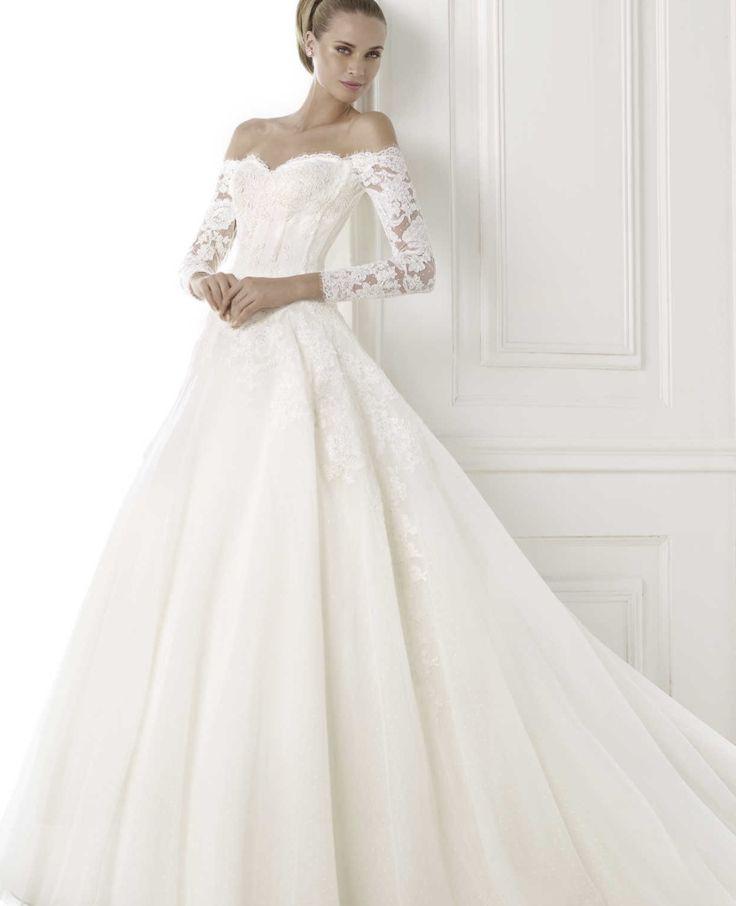 Simple Pronovias Wedding Dresses Pre Collection