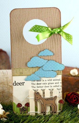 Door Hanger By Gail Milburn for Craft Stamper