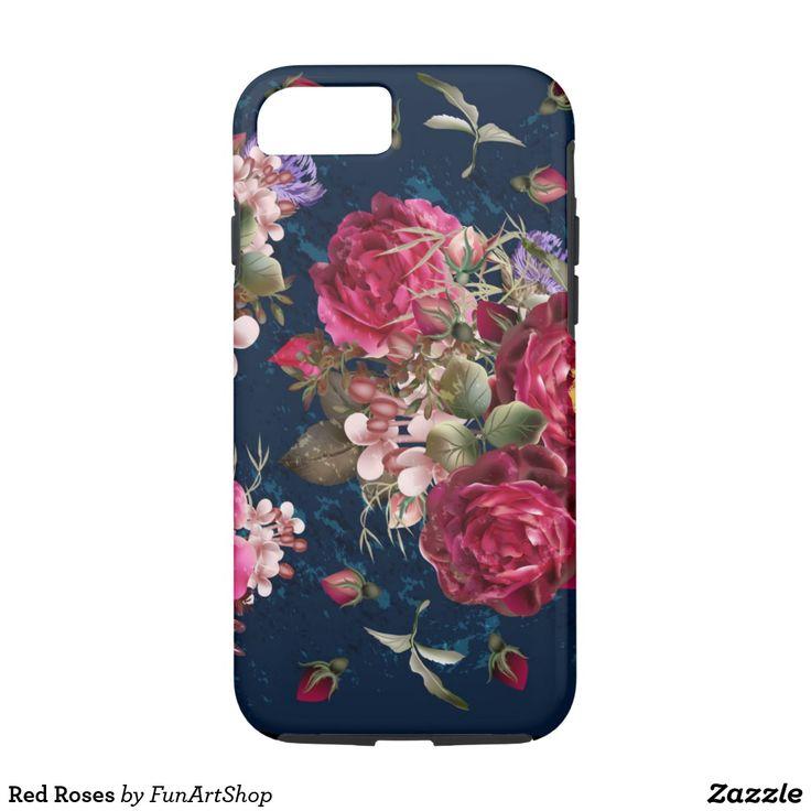 Red Roses Case-Mate iPhone Case | Zazzle.com | Birthday ...