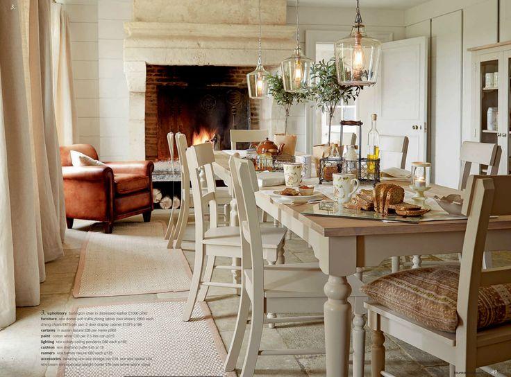 Restful Dining Laura Ashley Autumn Winter 2014