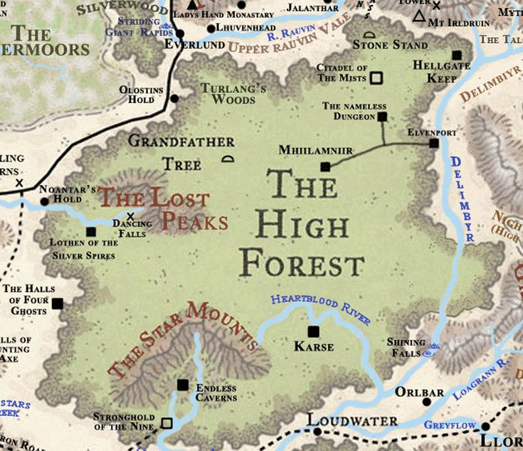Forgotten Realms: High Forest