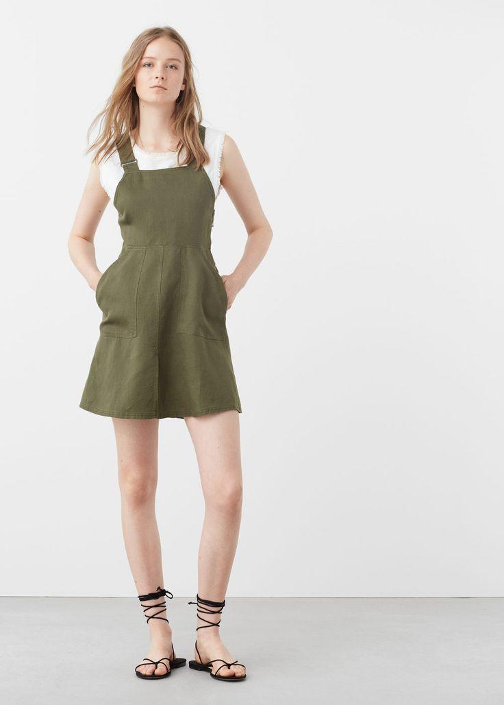 Pichi bolsillos - Vestidos de Mujer | MANGO España