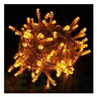 10 Meter LED Jouluvalot – Keltainen