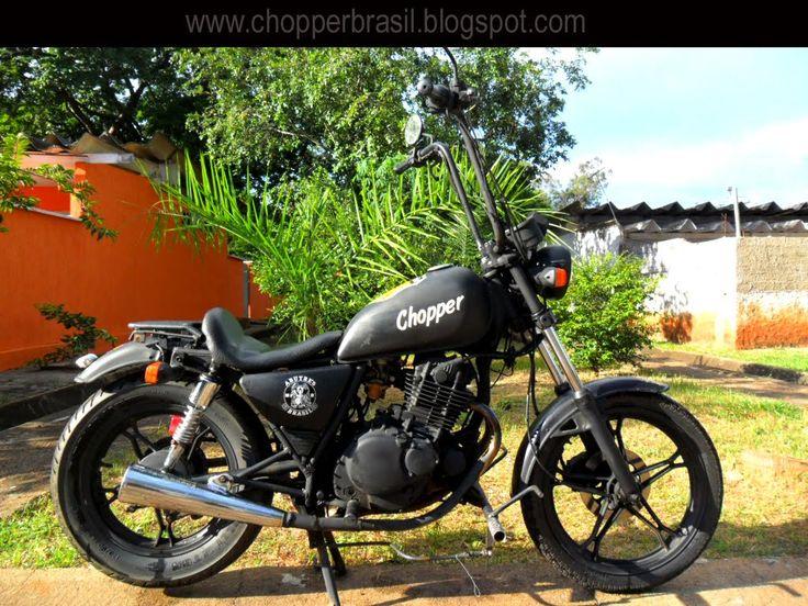Chopper Brasil: Bobber Suzuki Intruder 250