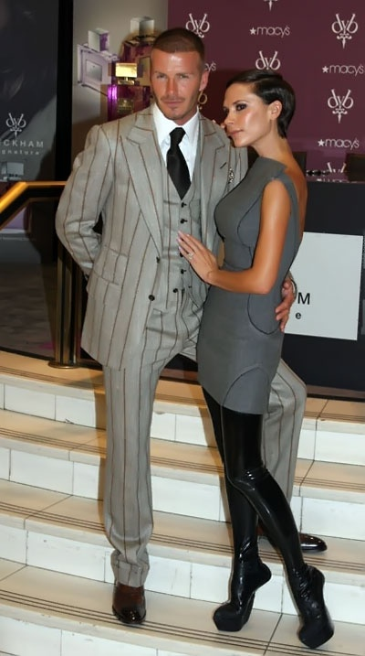 Celebrating Well Dressed Couples Victoria And David Beckham Datenight Pinterest Tom