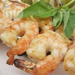 Mustard and Citrus Prawns