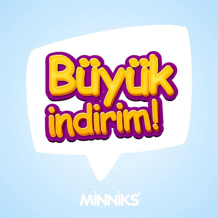 Büyük İndirim Başladı!  @Minniks #Büyük #İndirim #SezonSonu #Sale #BigSale