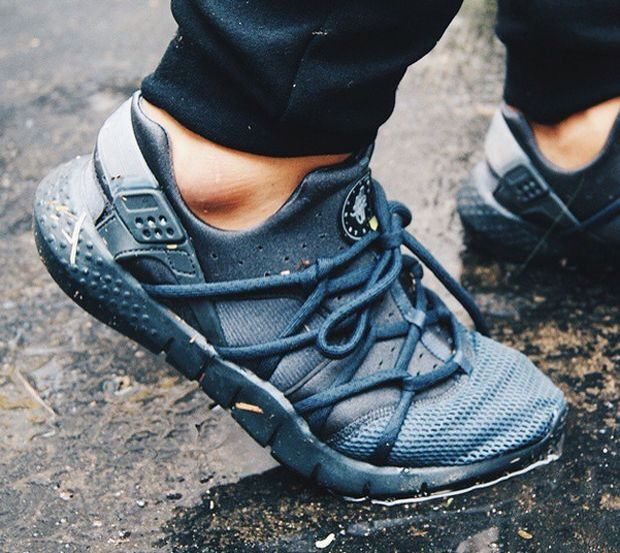 brand new 4f39f 53d57 ... Nike Air Huarache NM  Black ...