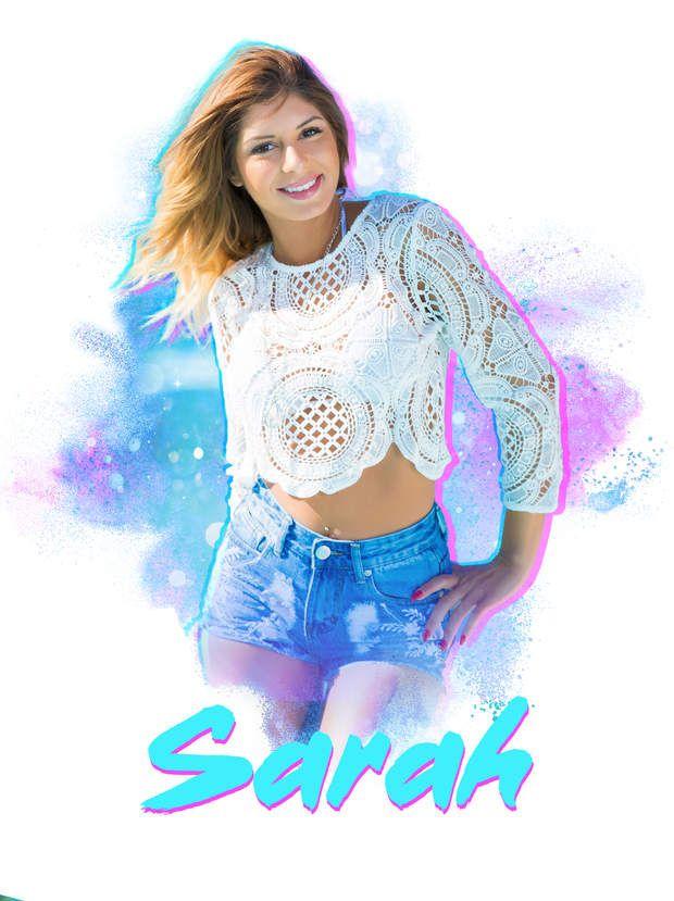 Sarah Lopez espère aussi devenir mannequin