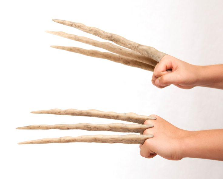 Jr. Wolverine Bone Claws Hand Sculpted and by DarkMatterProps