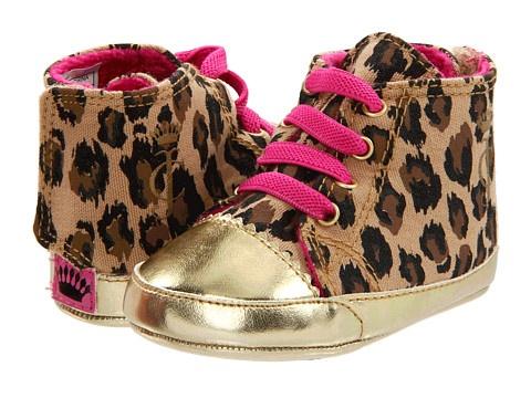 Juicy Couture Kids Leopard Print Shoes (Infant)