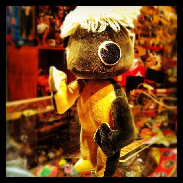60年代ごろの日本製ハンドメイドドール ver.河童。輸出用が主だった時代に日本妖怪モチーフを作っていたとは衝撃です。 #toysaddict #japanese #youkai #japanese_monster #kappa #dreampets